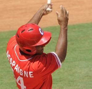 Alfredo Despaigne pegó tres cuadrangulares, para liderar la ofensiva cubana en la victoria sobre Taipéi de China, 20x11, en el tercer partido preparatorio previo al III Clásico Mundial de Béisbol