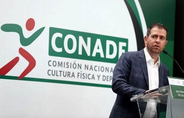 Director de la Comisión Nacional de Cultura Física y Deportes de México, Alfredo Castillo