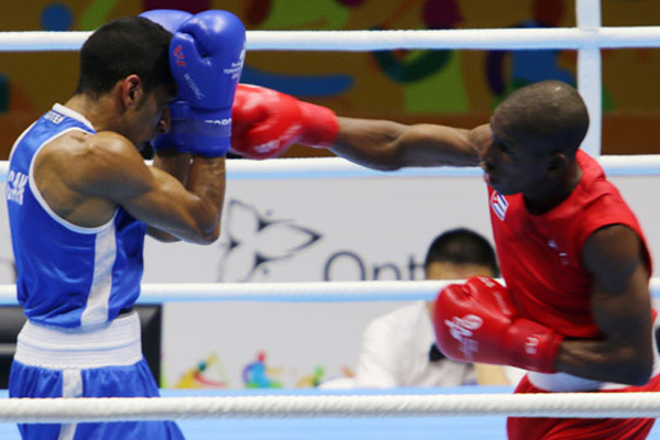 Ocho cubanos por bronce en el Mundial de Boxeo
