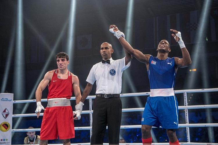 Asegura Cuba tres finalistas en el Mundial de Boxeo (+Video)