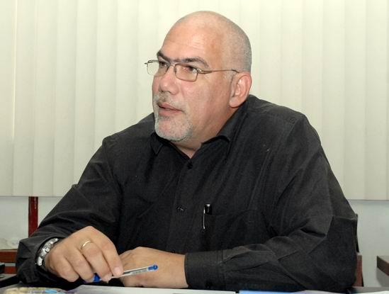 Antonio Eduardo Becali Garrido, Presidente del Instituto Nacional de Deportes, Educación Física y Recreación (INDER). Foto: Abel Rojas Barallobre