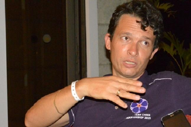 Declaraciones del capitán cubano antes de partir hacia Olimpiada Mundial de Ajedrez