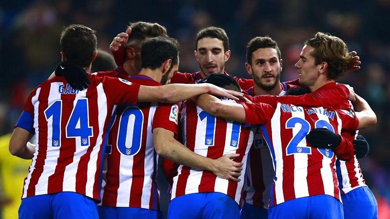 Clasifica Atlético de Madrid a cuartos en Copa del Rey de Fútbol