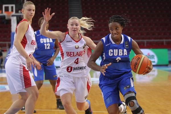 Belarus supera a Cuba en mundial de baloncesto