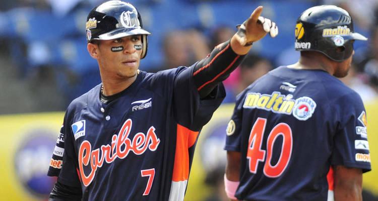 Caribes empatan en Venezuela, y las Águilas repiten en Dominicana