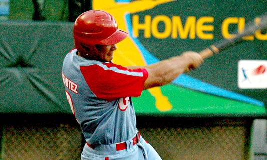 Carlos Benítez conectó su undécimo cuadrangular e impulsó dos carreras. Foto: Alx Castro
