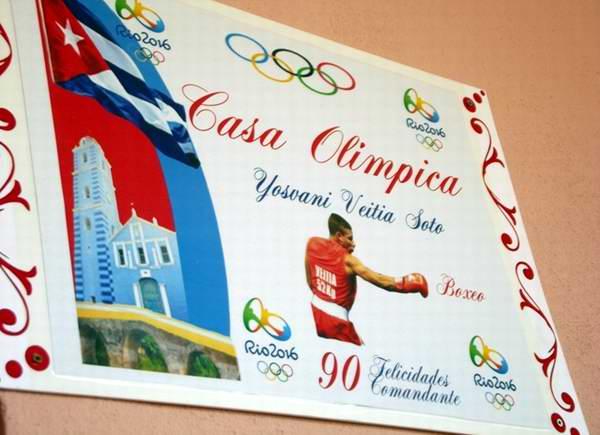 Casa Olímpica del boxeador Yosvany Veitía. Foto: Miozotis Fabelo Pinares