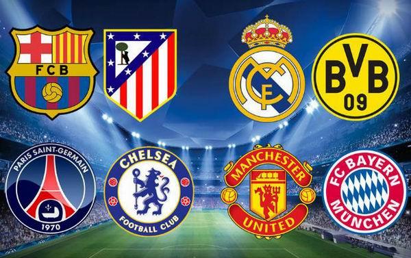 UEFA Champions league: Favoritos en cuartos de final