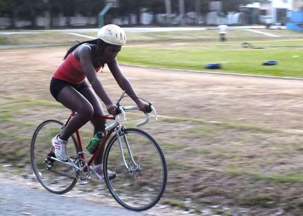 En Cuba contamos con una tradición ciclística con deportistas de la talla de Lisandra Guerra. Foto Abel Rojas
