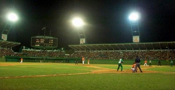 Estadio 5 de Septiembre de Cienfuegos. Foto: Mireya Ojeda