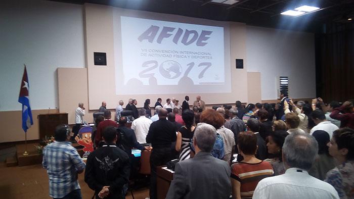Clausuran en La Habana AFIDE 2017