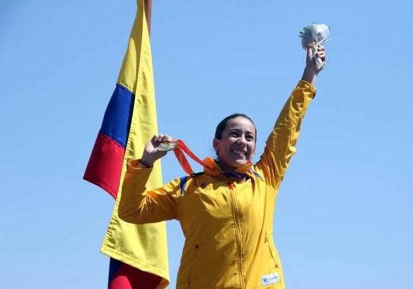 Mariana Pajón lidera la delegación colombiana para Veracruz 2014
