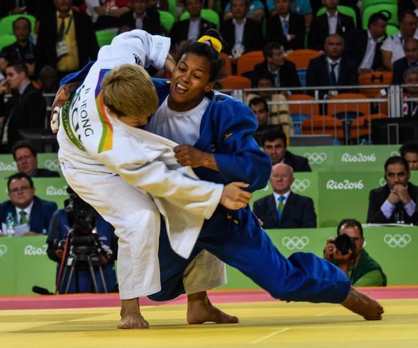 Termina quinta  la judoca Dayaris Mestre en Río 2016