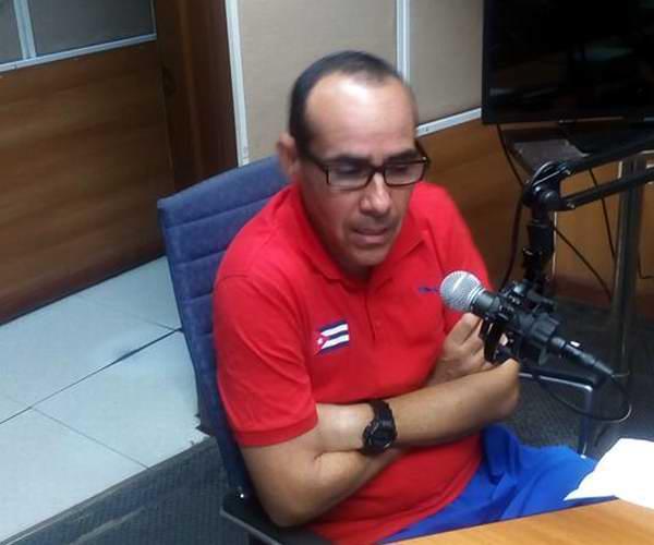 El comisionado nacional de bádminton, Alexis Ramírez. Foto: Rodolfo Durán