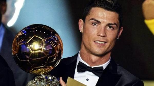 Gana Cristiano Ronaldo el Balón de Oro 2013. Foto: EFE
