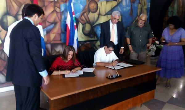 Cuba y Costa Rica firman Carta de Entendimiento en la esfera deportiva (+Audio)