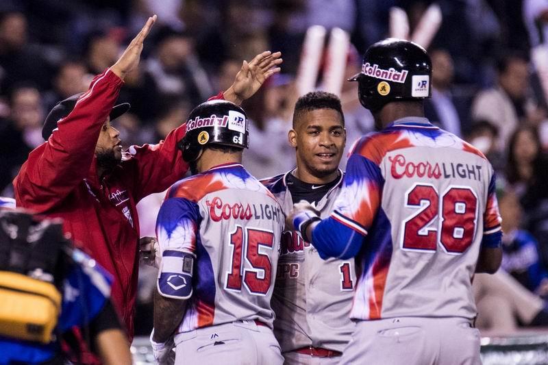 Dominicana se impone a Cuba y llega a la final de la Serie del Caribe Jalisco 2018. Foto: @SDCJalisco2018.