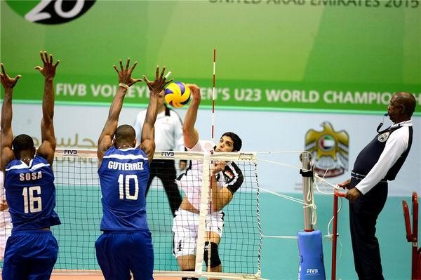 Segundo triunfo cubano en mundial masculino de voleibol sub-23