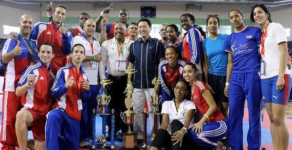 Asistirá Cuba con equipos completos de taekwondo a Veracruz 2014. Foto: mastaekwondo.com