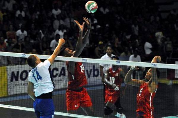 The Cuban volleyball takes firm steps