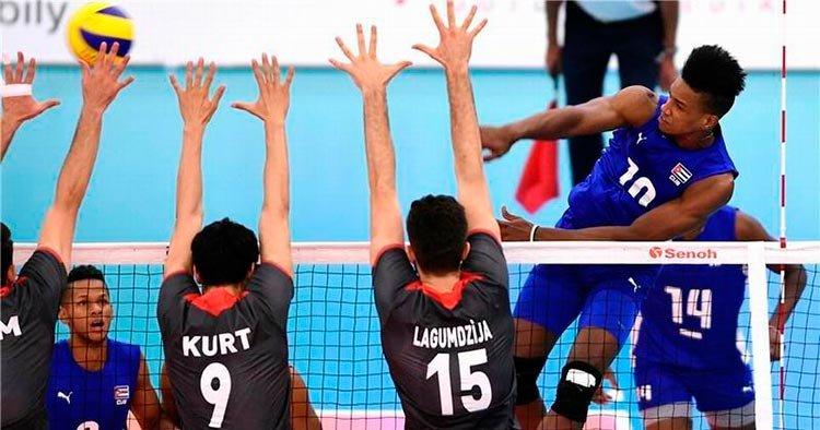 Gran actividad internacional para el voleibol cubano