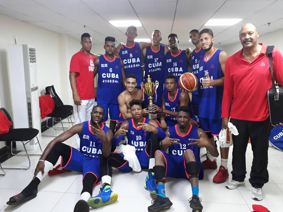 Gira de preparación de baloncesto: cubanos logran su primer éxito
