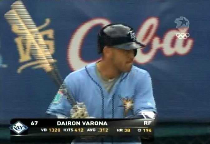 Dayron Varona Tampa Bays