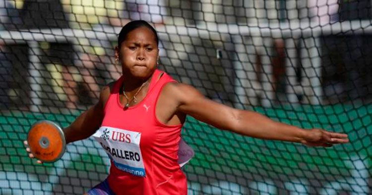 Denia Caballero se alza con el bronce pero Sandra Perkovic vuelve a vencer
