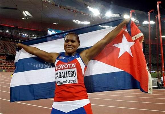 Denia Caballero, primer oro de Cuba en Mundial de Atletismo