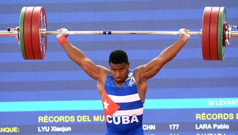 Oro para Cuba en el levantamiento de pesas