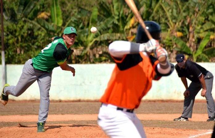 Llegó Cienfuegos a diez victorias en el Sub 23 de béisbol. Foto: Modesto