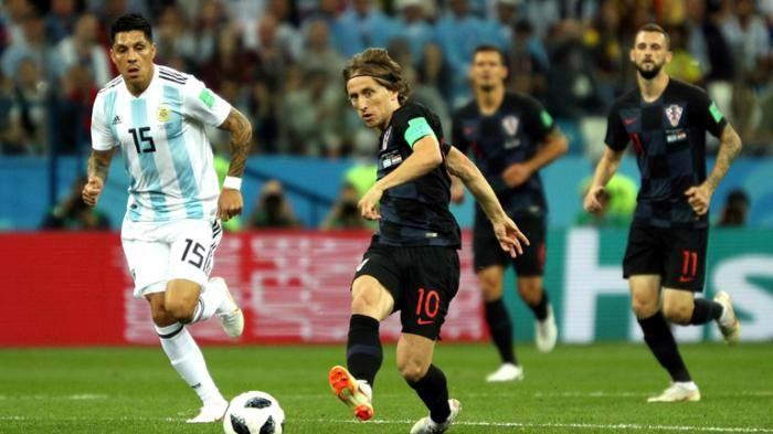 Argentina vs. Croacia. Foto: FIFA