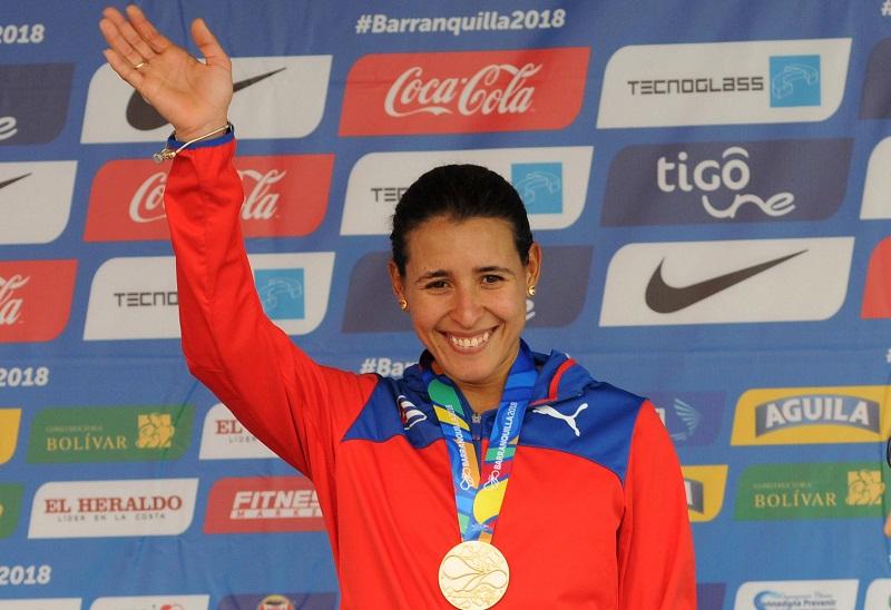Primera medalla de oro de Arlenis Sierra