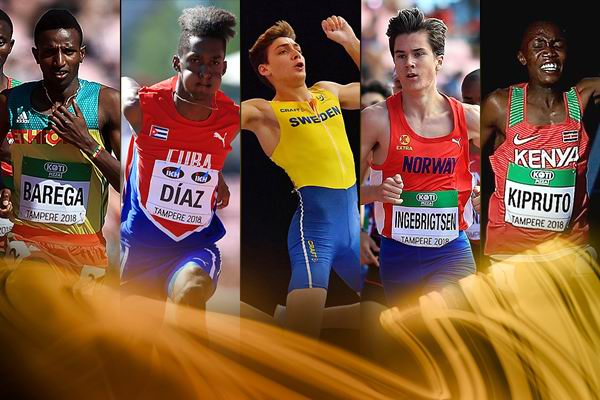 Cuban Jordan Diaz among the five finalists for the 2018 Male Rising