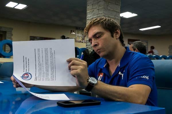 Bruzón: He jugado un buen ajedrez, pero no estoy conforme. Foto: Calixto Llanes