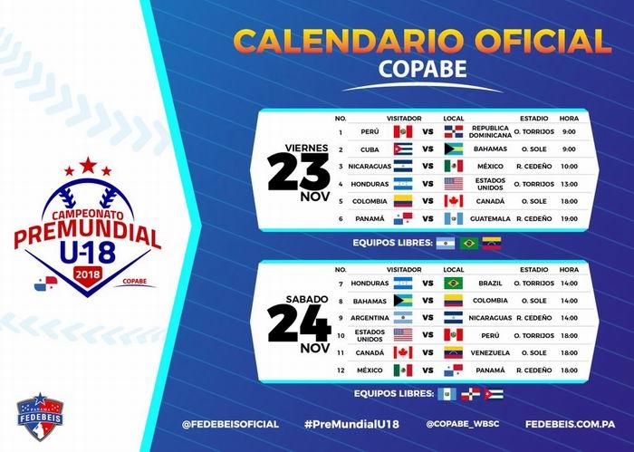 Bahamas, primer rival de Cuba en Panamericano juvenil de béisbol