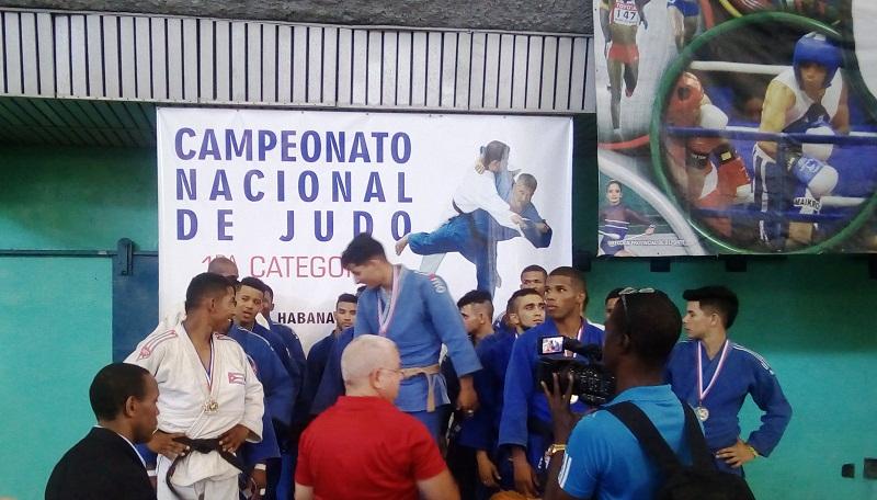 Domina Matanzas el torneo por equipos del Nacional de Judo (M)
