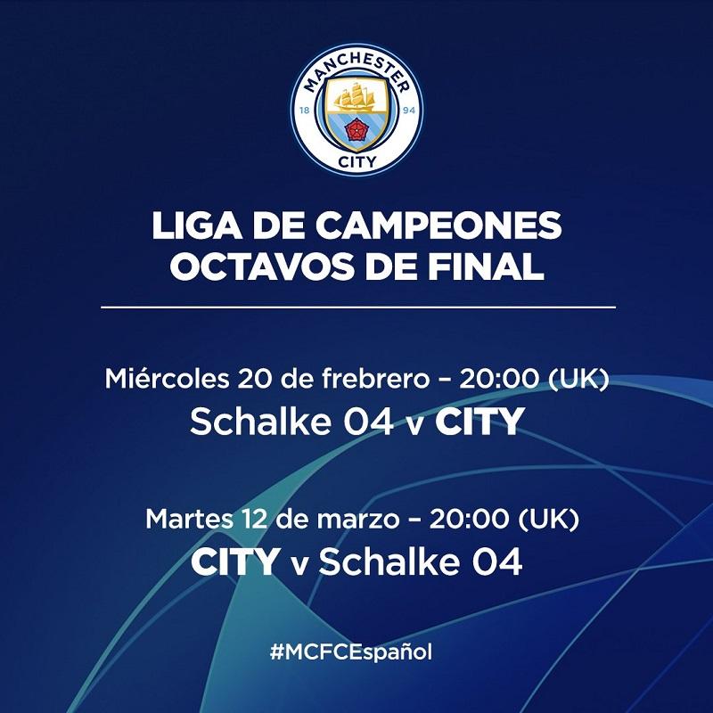 La Champions ya tiene su calendario de octavos de final