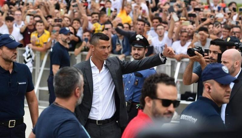 Cristiano a punto de ser presentado por la Juventus (+Video)