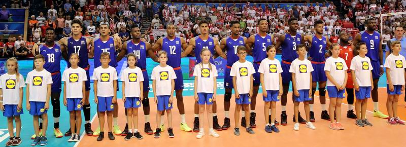 Día dos del Mundial de Voleibol: Cuba descansa y estudia. Foto: FIVB