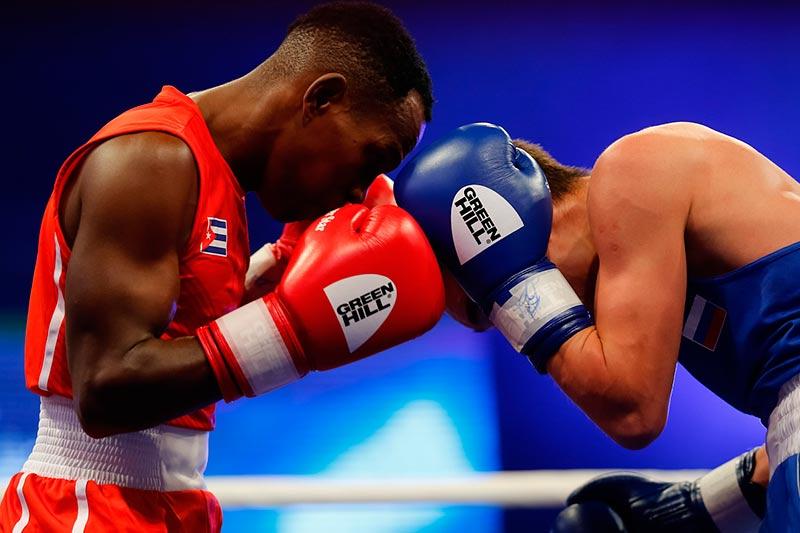 Rusia mejor que Cuba en tope de boxeo