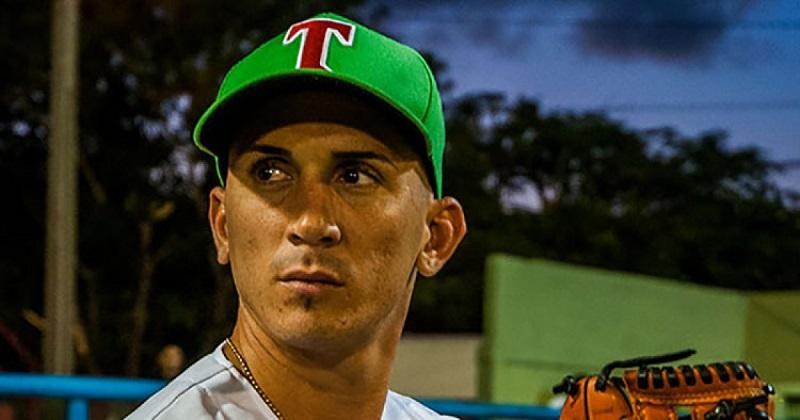 Dariel Góngora, pitcher tunero
