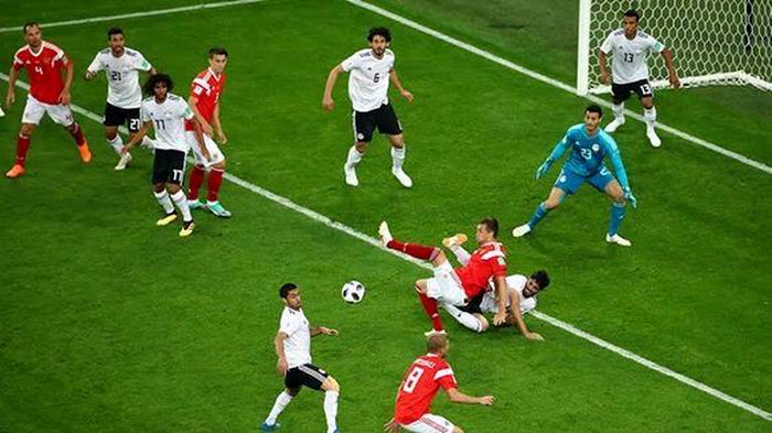 Egipto se despiede del Mundial tras la derrota ante Rusia. Foto: Reuters.
