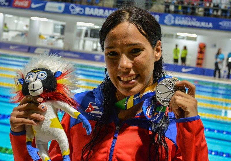 Plata para Elisbet Gámez y récord nacional