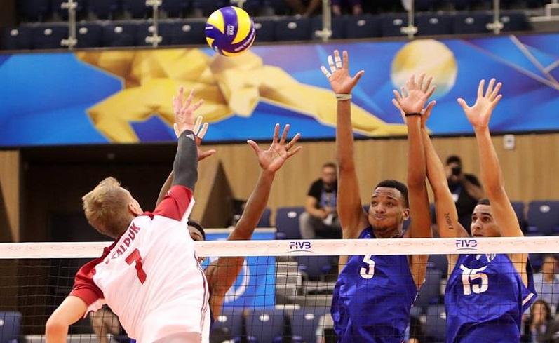 Debutó Cuba con revés ante Polonia en Mundial de Voleibol de Bulgaria