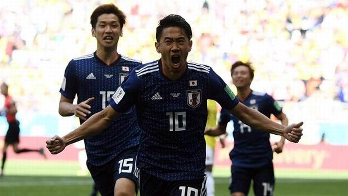 Japónjugó con un hombre más casi todo el partido y se llevó la victoria. Foto: Getty Images