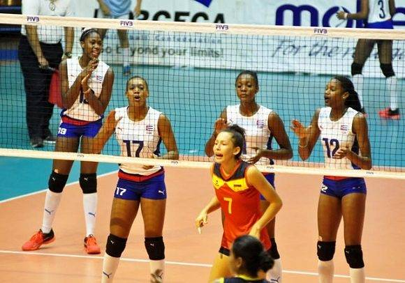 Debuta Cuba ante China en Mundial femenino de Voleibol