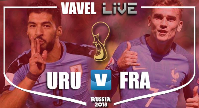Francia vs Uruguay detalles ante el enfrentamiento