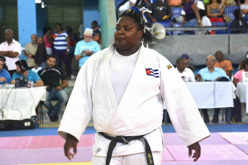 Cuban judoka Idalis Ortiz won a silver medal in the IJF Guangzhou Master 2018, in China