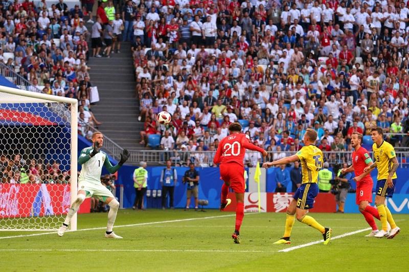 Clasifica Inglaterra a semifinales por tercera vez en su historia